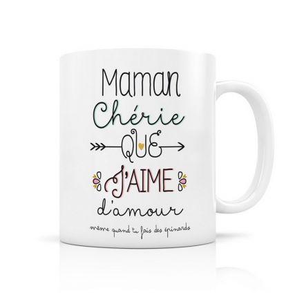 Mug en céramique - Maman chérie