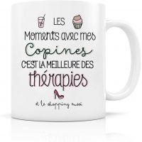Mug en céramique - Thérapie copine