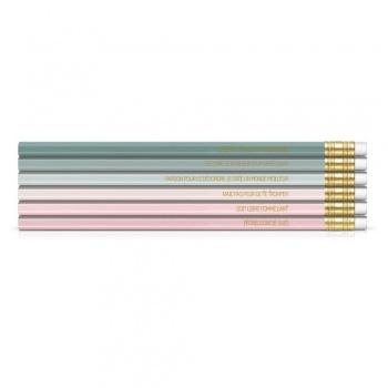 Pochette de 6 crayons papier