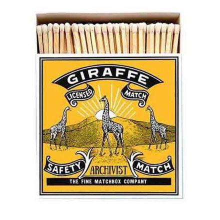 Grande boîte allumettes - Archivist - Girafe