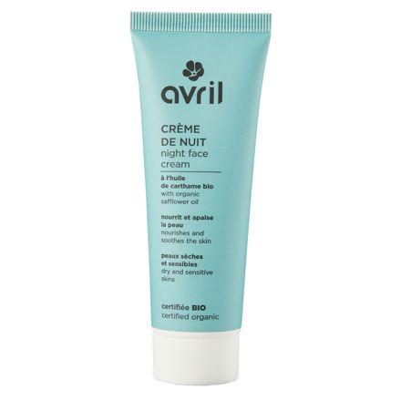 Crème de nuit - Peaux sèches et sensibles - 50 ml