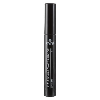 Mascara Waterproof noir certifié bio - Avril