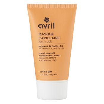Masque capillaire au beurre de mangue bio - AVRIL