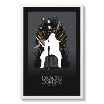 Affiche Gallodrome - Drache is coming
