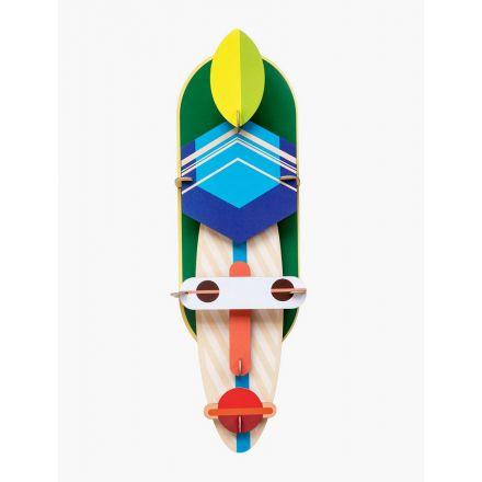 Masque géant 3D - London Mask - Studio Roof