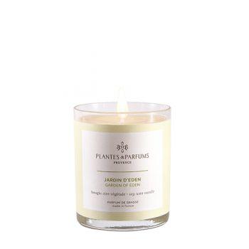 Bougie végétale parfumée - Jardin d'Eden - 75g