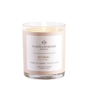Bougie végétale parfumée - Patchouli - 180 g