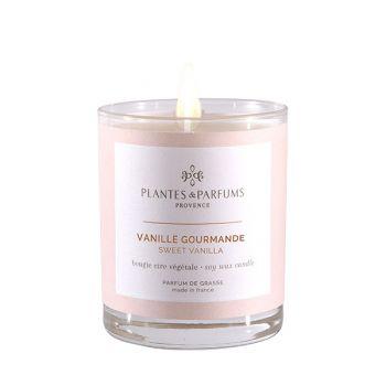 Bougie végétale parfumée - Vanille Gourmande - 180 g