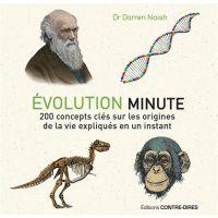 Livre - Evolution minute - 200 concepts clés sur les origines de la vie