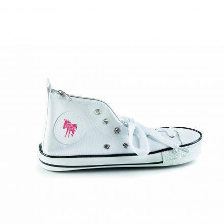 Trousse chaussure basket converse - Blanc