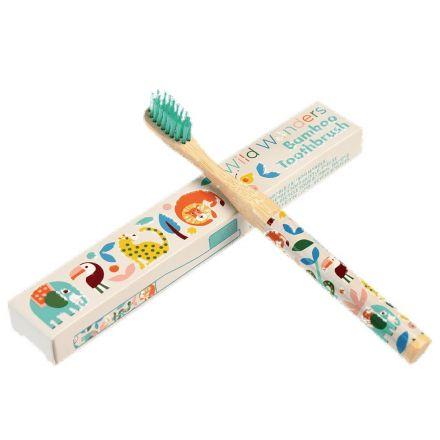 Brosse à dents enfant - Bambou