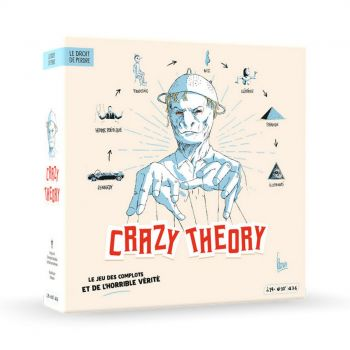 Jeu de société - Crazy Théory