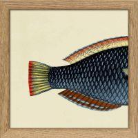 Cadre queue de poisson (2) 15*15 cm - The Dybdahl Co.