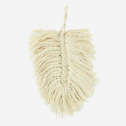 Feuille de décoration en coton à suspendre