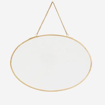 Miroir à suspendre - Forme ovale