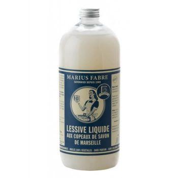 Lessive liquide au copeaux de Savon de Marseille - 1 litre