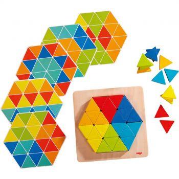 Jeu d'assemblage - Triangles magiques - Haba