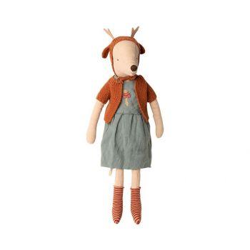 Souris géante bonnet oreilles de cerf- Fille Maileg