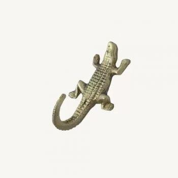 Crochet laiton crocodile