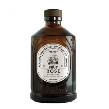 Sirop brut - Saveur Rose brut biologique - Bacanha