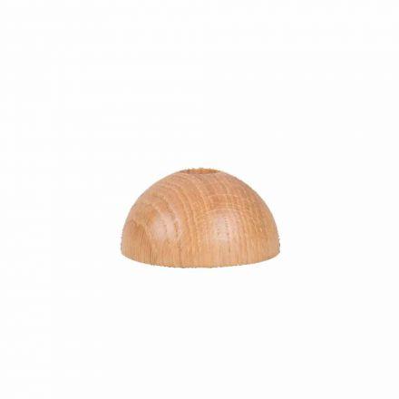 Support brosse à dents rechargeable en bois de chêne Caliquo