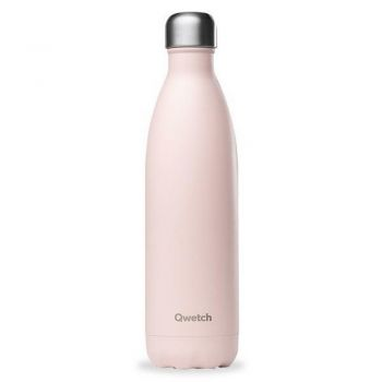 Bouteille isotherme - Rose pastel - 750 ml