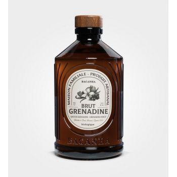 Sirop Grenadine brut biologique - Bacanha