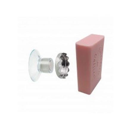 Boîte de 1 porte savon minimaliste aimanté - Fabriqué en France