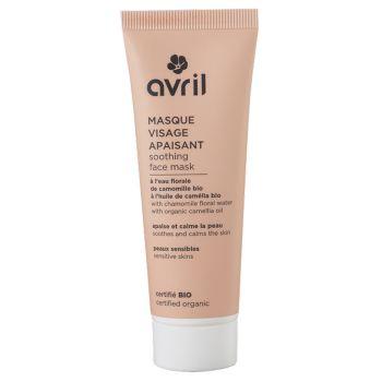 Masque visage - Apaisant - Eau florale de camomille bio et huile de camélia bio - 50 ml