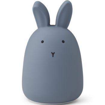 Veilleuse rechargeable - Lapin - Bleu