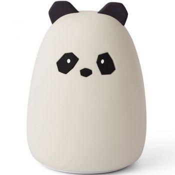 Veilleuse rechargeable - Panda - Crème