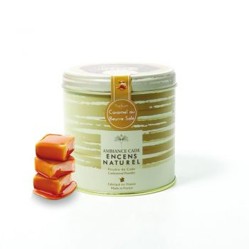 Boîte de poudre de Cade - Parfum Caramel Beurre Salé