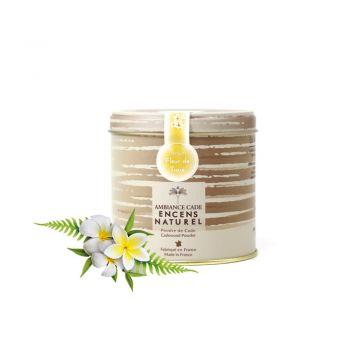 Boîte de poudre de cade - Parfum Fleur de Tiaré
