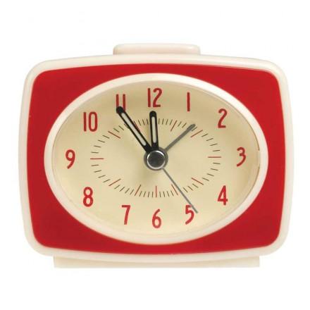 Réveil matin - Esprit vintage- rouge