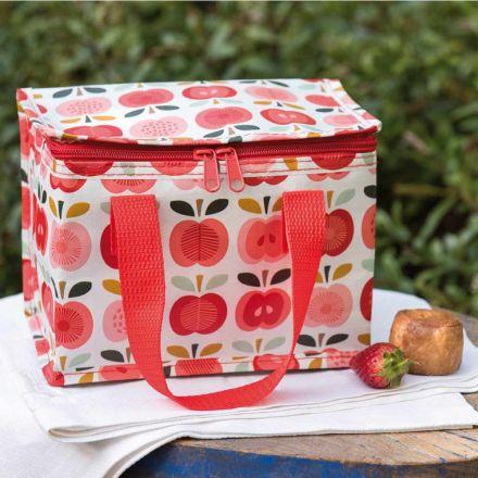 Petit sac à lunch isotherme Pommes vintage