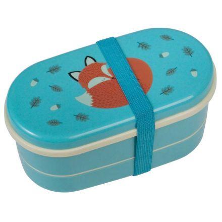 Boîte bento renard 17 cm