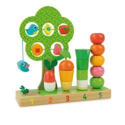 J'apprends à compter les légumes