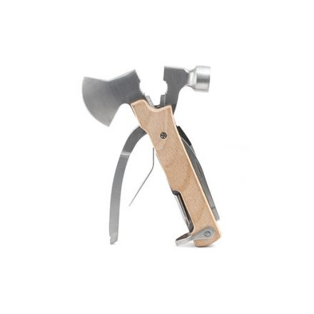 L'outil 10 fonctions hache pour baroudeur