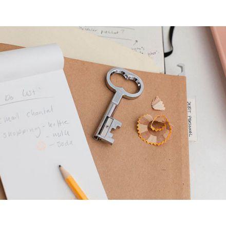 Taille-crayons en forme de clé