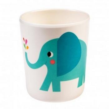 Gobelet en mélamine éléphant pour enfant