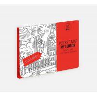 Grand plan de poche à personnaliser Londres 52 cm x 38 cm