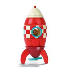 Kit fusée magnétique en bois massif - 2 à 6 ans